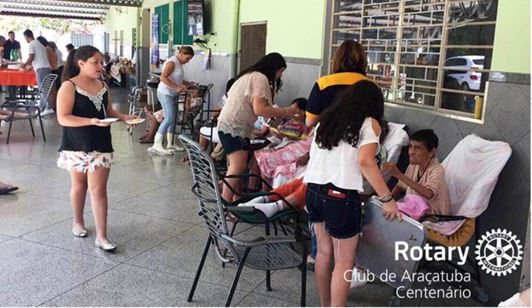 Comemoração do Aniversário do Vovô no Asilo São Vicente de Paulo (2)