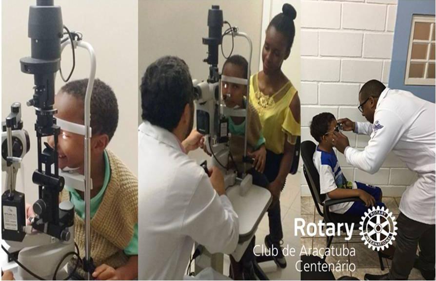 Doação de consulta oftalmológica e óculos para 76 crianças carentes de Araçatuba (2)