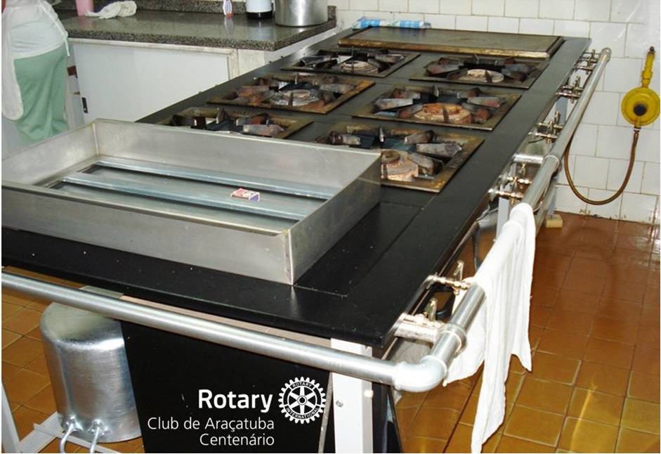 Doação de equipamentos para o Instituto Nosso Lar