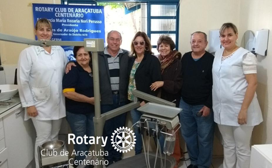 Doação e instalação de gabinete dentário para a Casa do Bom Samaritano